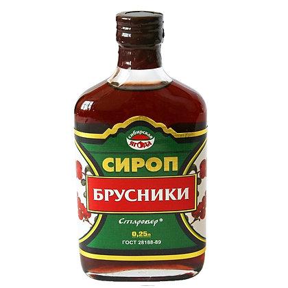 "Сироп брусники 250 мл ""Алтай старовер"""