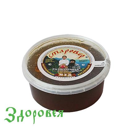 Мед разнотравье 0,5 кг п/п