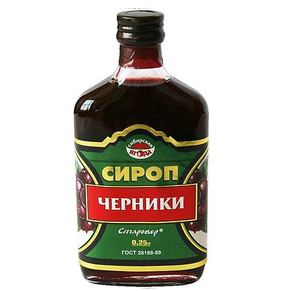 Сироп черники 250 мл Алтай старовер