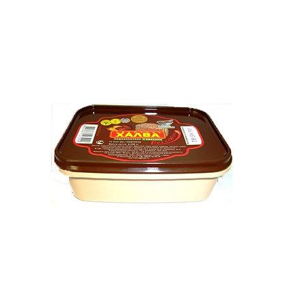 Халва подсолнечная с орехами на фруктозе 250г.