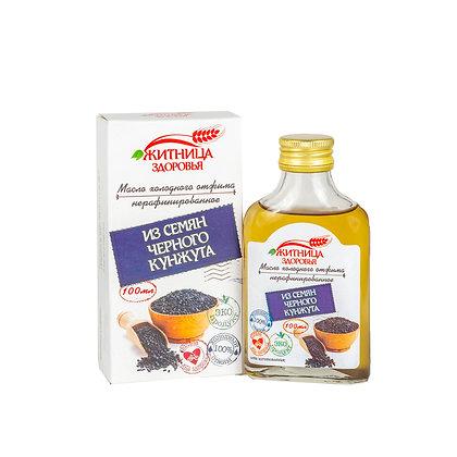 Масло чёрного кунжута Житница здоровья