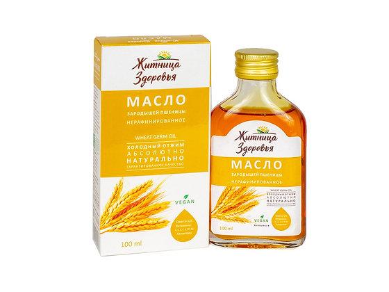 Масло зародышей пшеницы 100 мл Житница здоровья