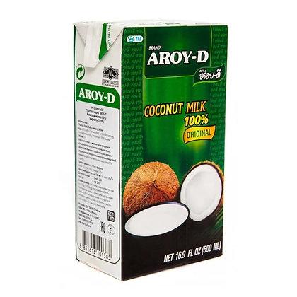 Копия Кокосовое молоко Aroy-D жирность 17-19% 500 мл