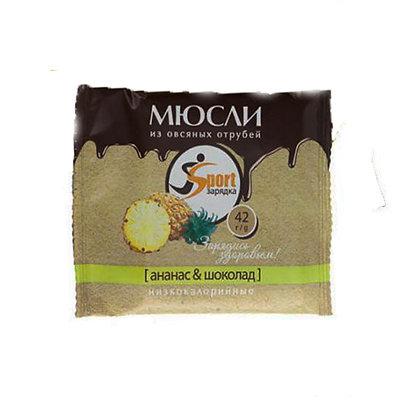 Мюсли без сахара на овсяных отрубях в ассортименте