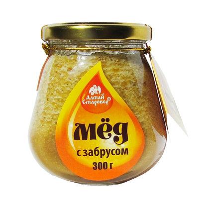 Мёд с забрусом 300г. Алтай Старовер