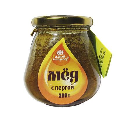 Мёд с Пергой 300г. Алтай Старовер Перга