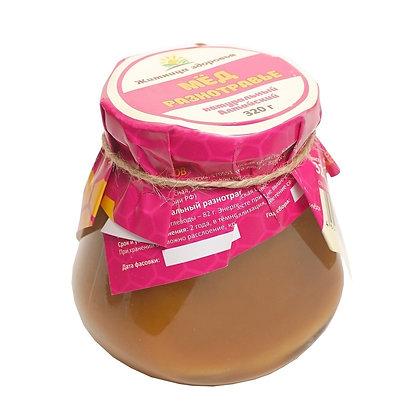 Мёд Алтайский Разнотравье 320 гр стеклянная банка