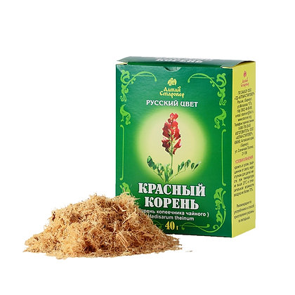 Красный корень (корень копеечника чайного) 40 г Алтай старовер