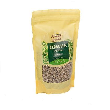 Семена конопли пищевой Green Hemp seeds 180г. Житница здоровья