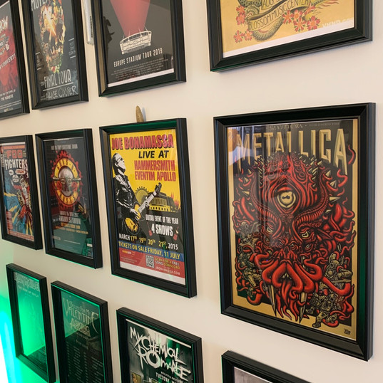 The wall of fame!