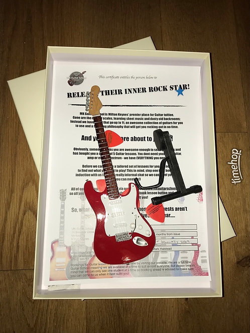 Guitar Lessons Boxset - LIMITED TO 5