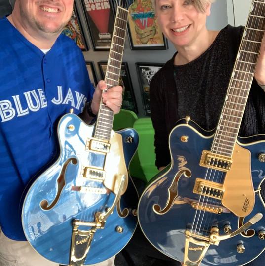 Guitar twins!