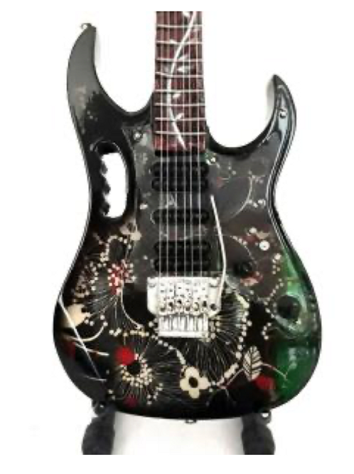 Steve Vai Jem Floral 1:4 Scale Model Guitar