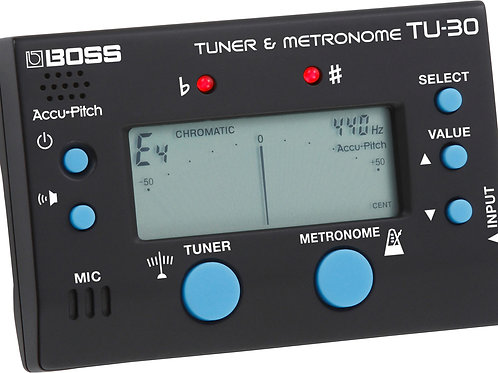 Boss TU30 precision tuner
