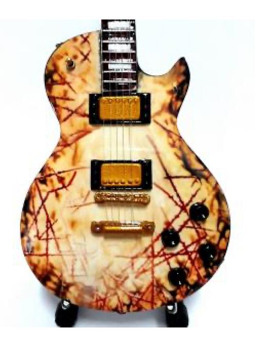 Rammstein Richard Krusp 1:4 Scale Model Guitar