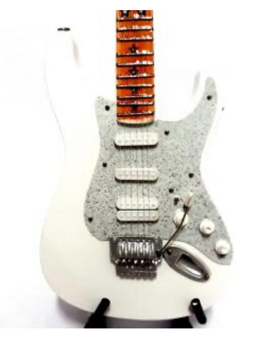 Richie Sambora 1:4 Scale Model Guitar