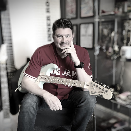 Mark and a Fender Strat