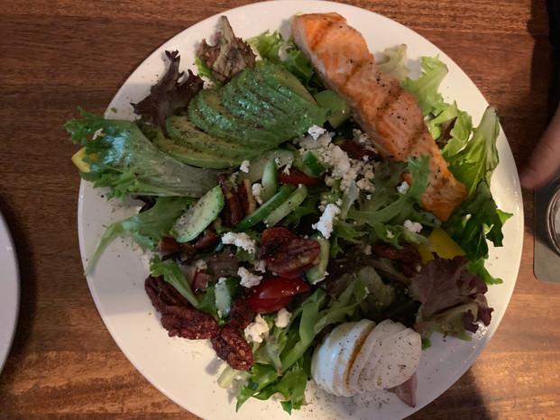 Cactus Club Cafe - Raincoast Greens with Salmon