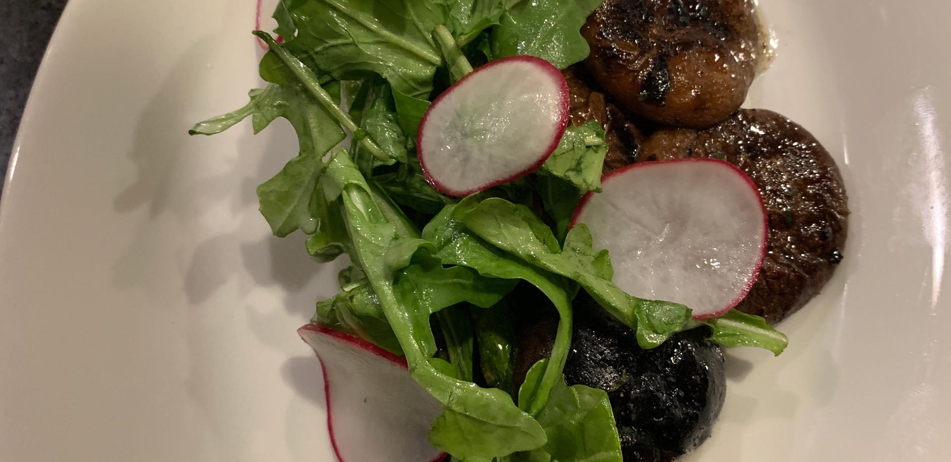 Asparagus & Shitake