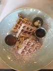 bacon & butter waffles