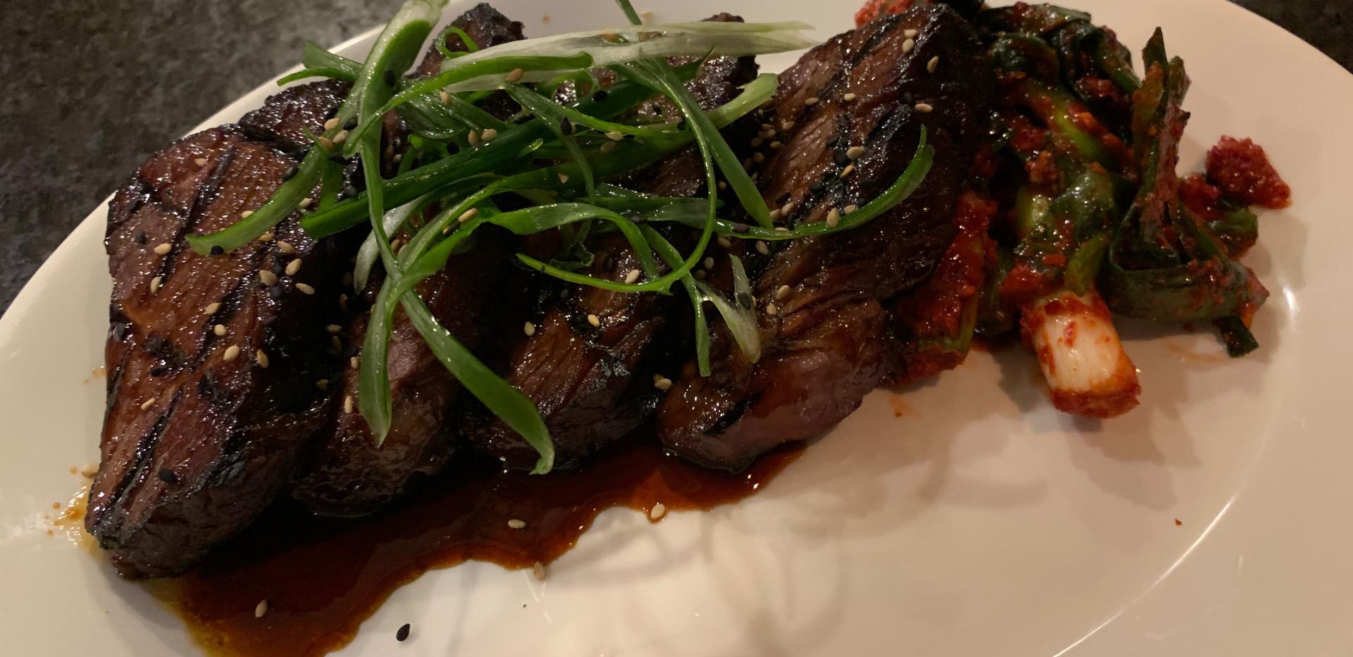 Grilled Beef Short Rib Steak (Bul Galbi)