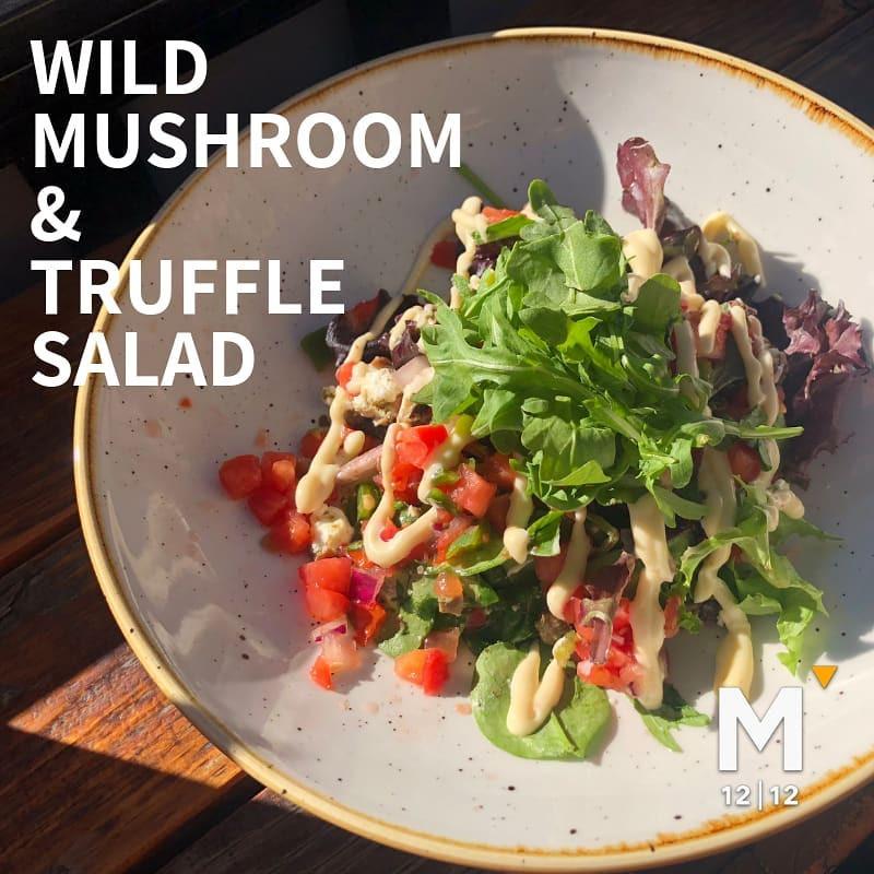 Wild Mushroom & Truffle Salad