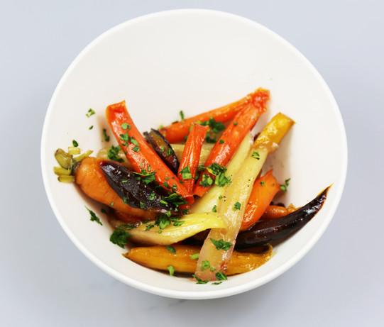 Tsuut'ina Honey Roasted Root Vegetables