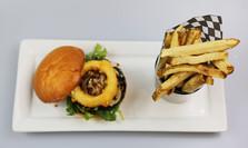 Grilled Portobello Veggie Burger