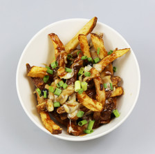 Smoked Bison Meat Poutine