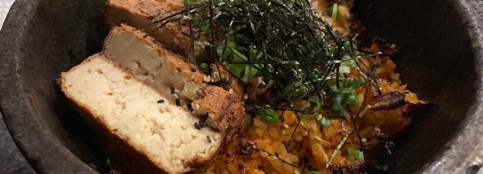 Baked Kimchi Fried Rice (Kimchi Bokkeum Bap)