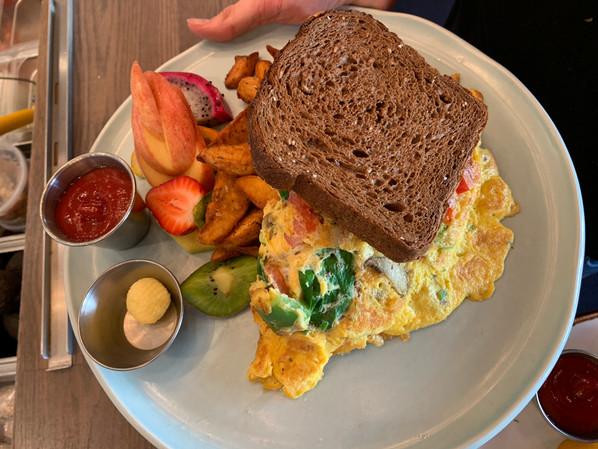 OEB - Chicken & Spinach Omelette