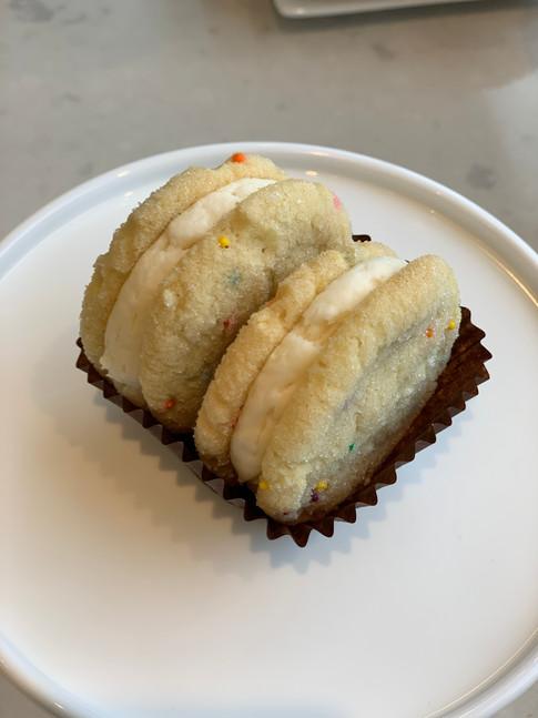 Confetti Sandwich Cookie
