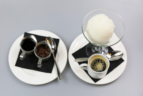 French Vanilla Ice cream with Espresso