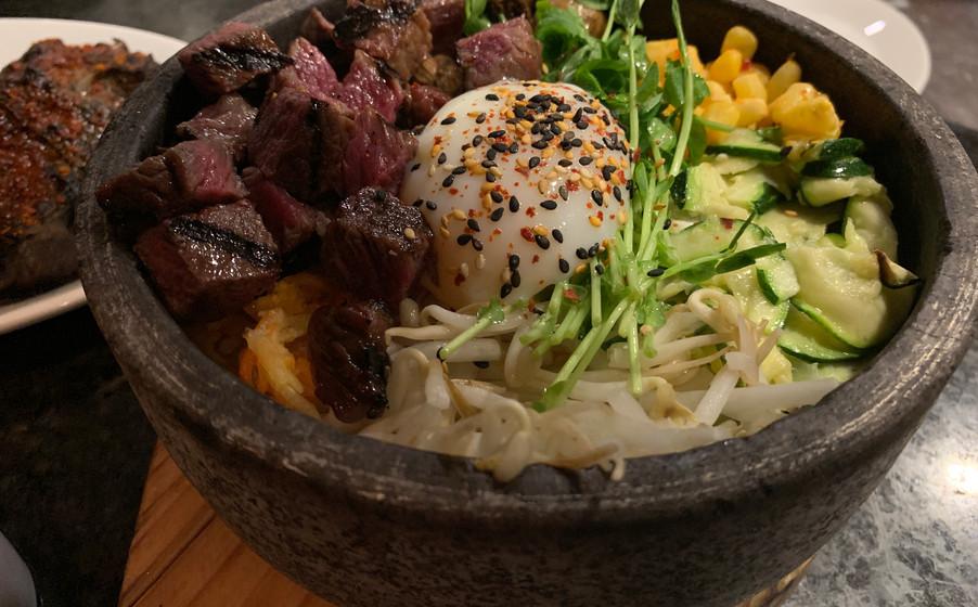 Beef Hot Stone Rice Bowl (Dolsot Bibimbap)