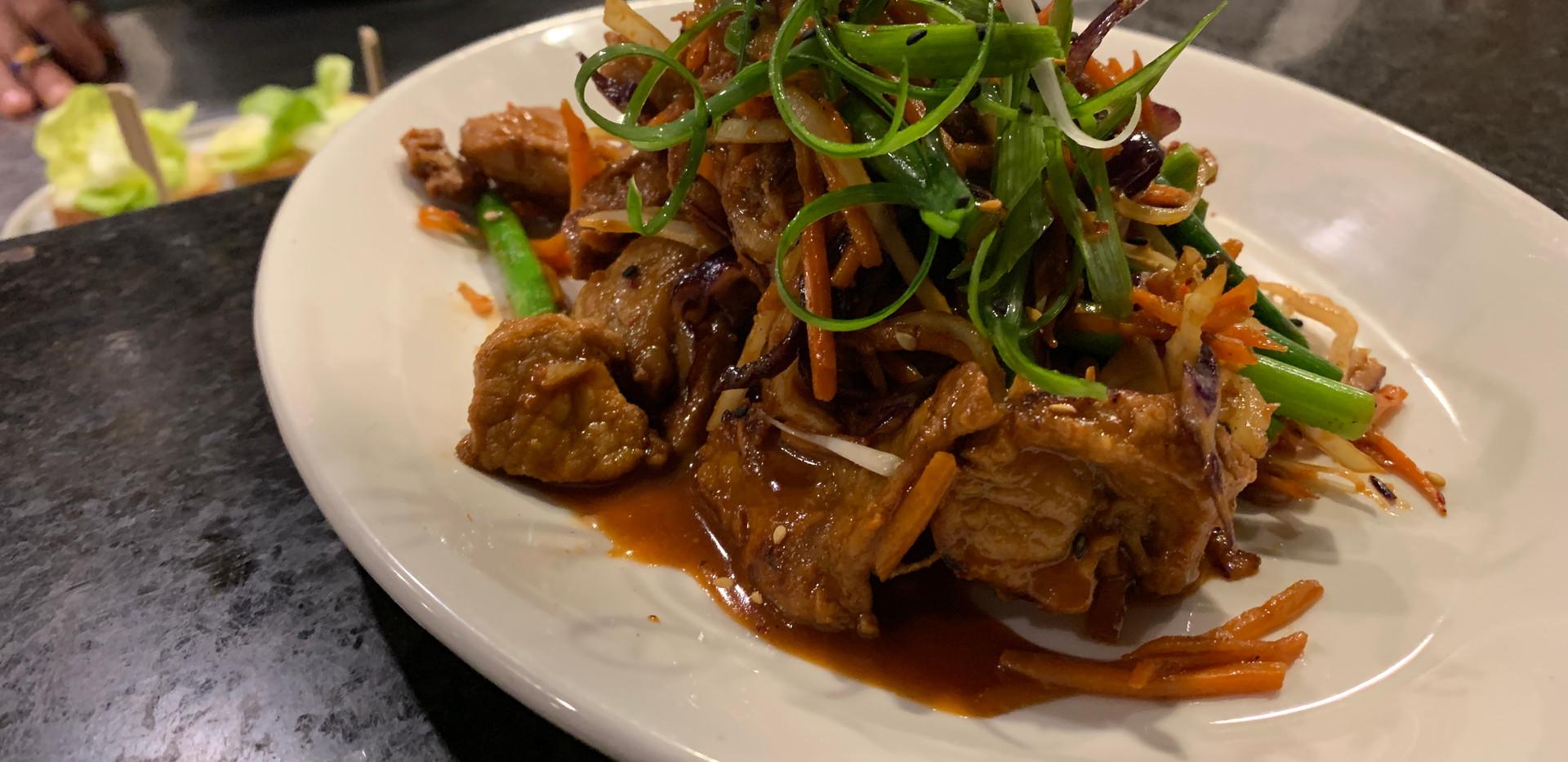 Broek Acres Spicy Pork Shoulder (Jeyuk Bokeum)