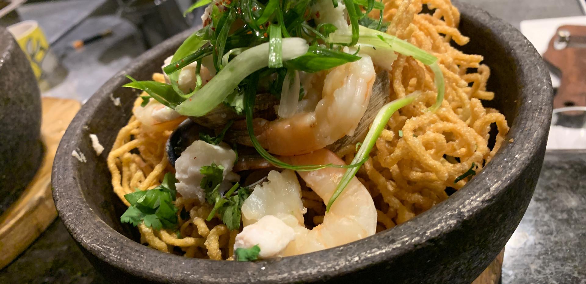 Seafood Curry Ramen Nest (Haemul Karae Ramen Dungji)