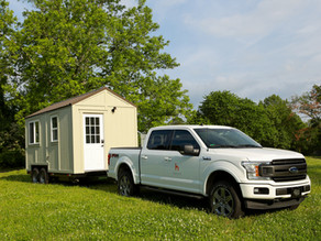 Traveling with a Tiny House on Wheels (THOW)