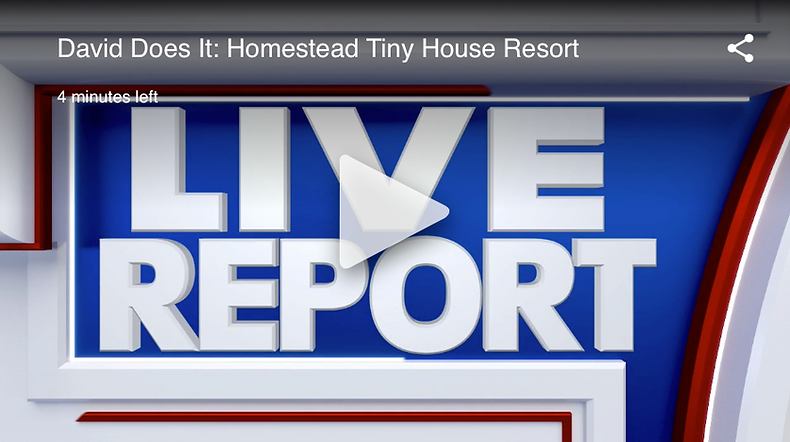 Homestead Tiny Resort on the news!