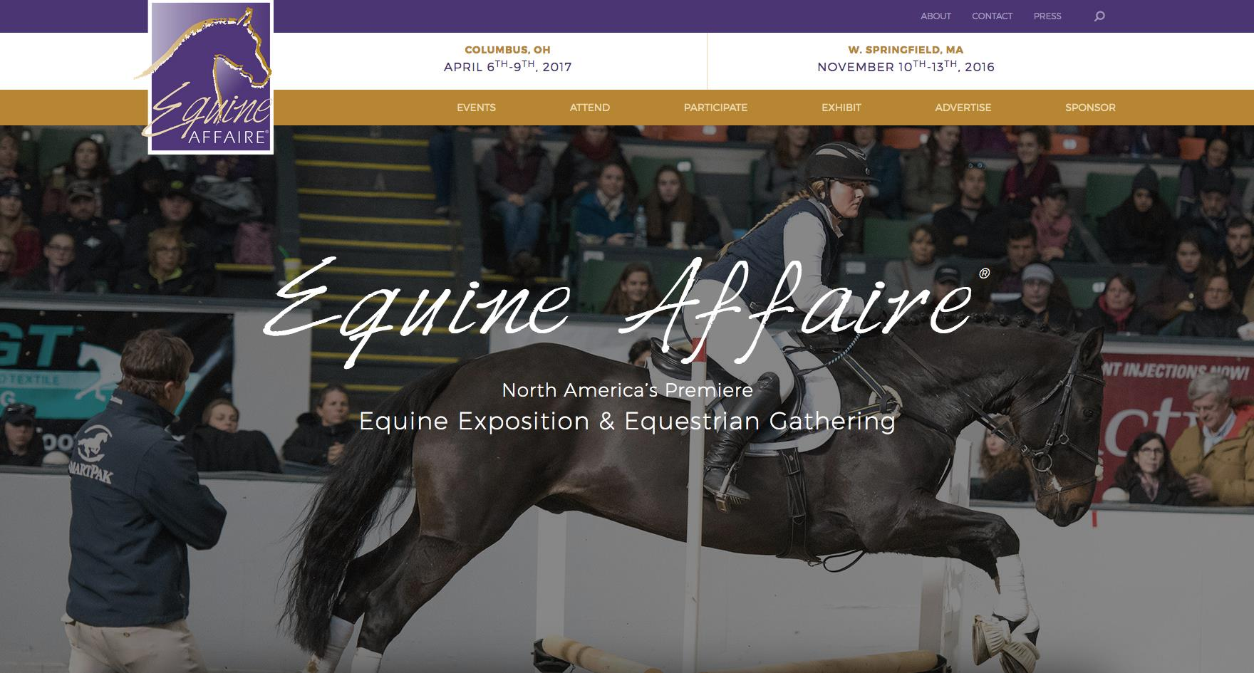 Front Page Equine Affaire