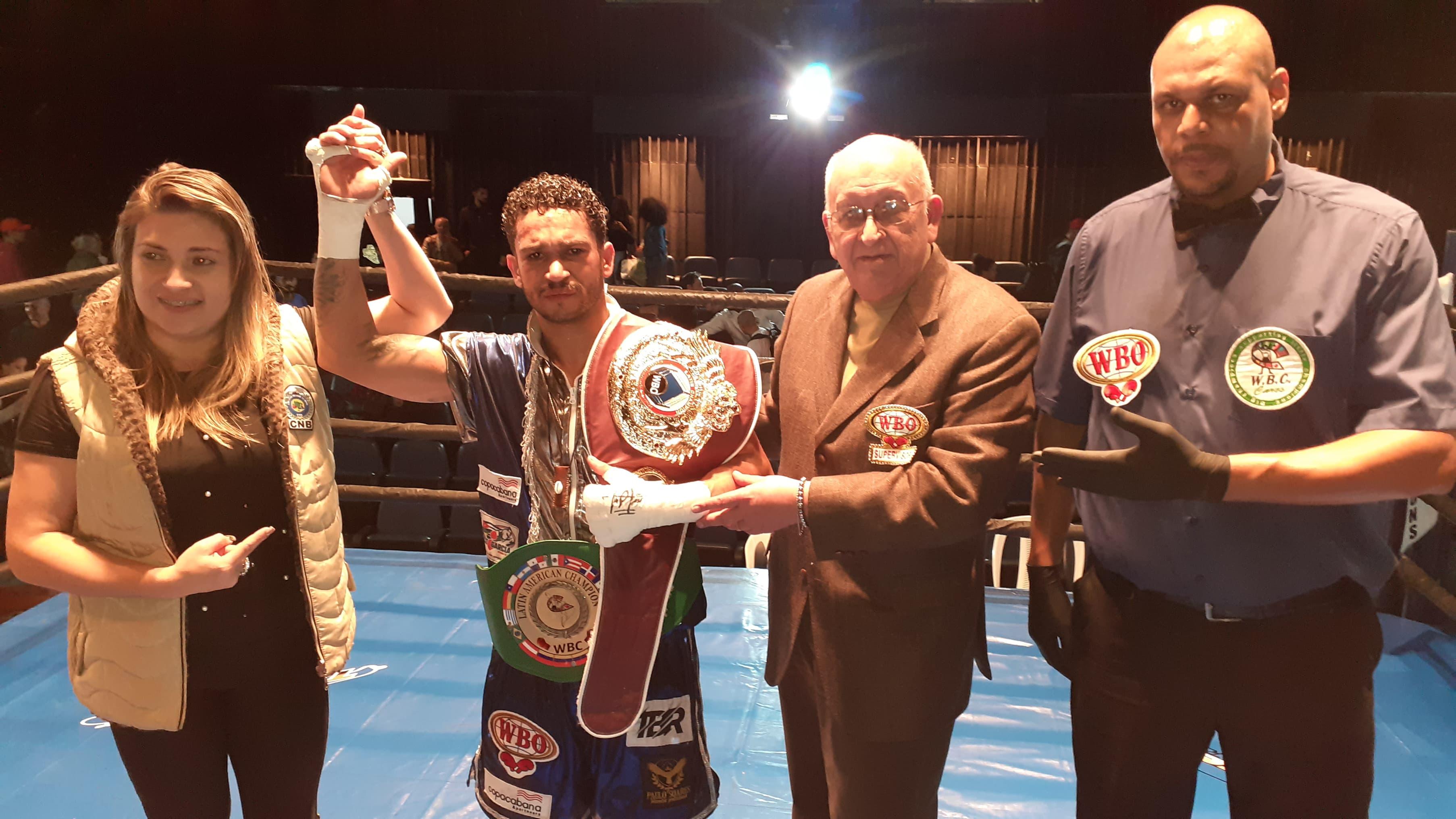 Paulo Soares Campeão WBC/WBO Latino