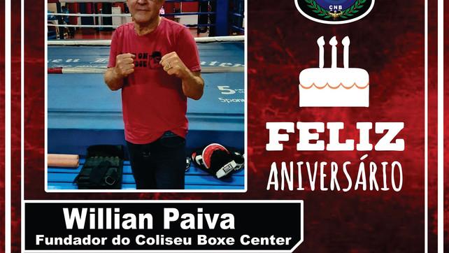 Feliz Aniversário Sr. Willian Paiva