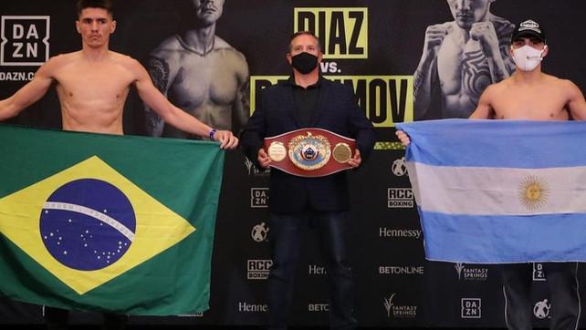 Pesagem: Patrick Teixeira vs. Brian Castaño