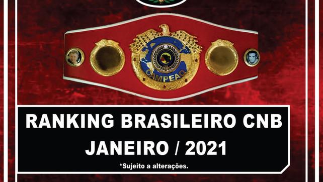 Ranking Brasileiro CNB - Janeiro/2021