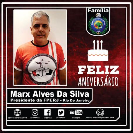 Feliz Aniversário: Marx Alves Da Silva
