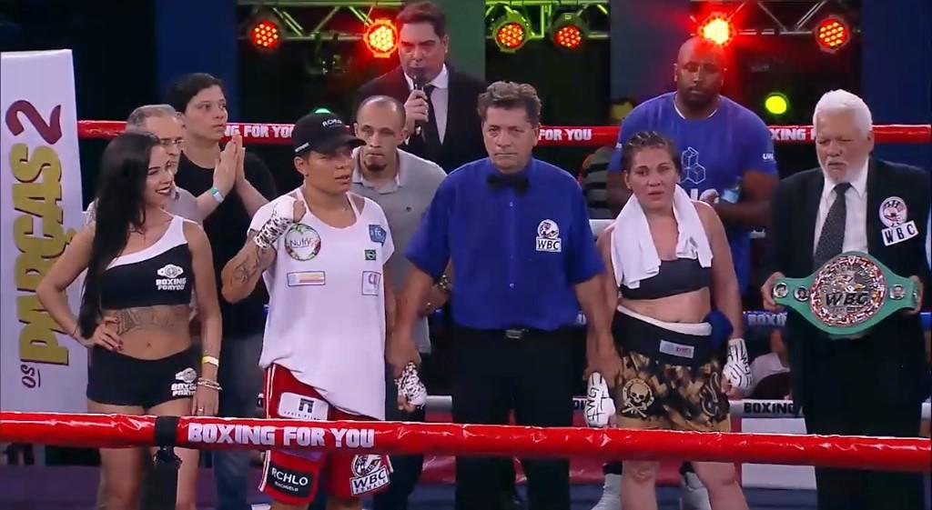 Adriana Araujo Campeã WBC Silver
