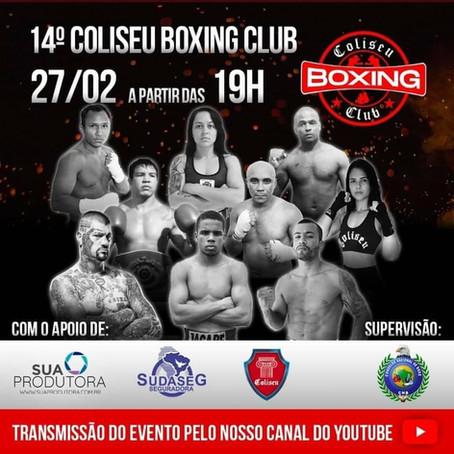 Coliseu Boxing Club - 14° Edição será dia 27/02
