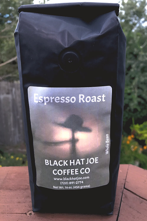 Black Hat Joe Espresso - whole bean