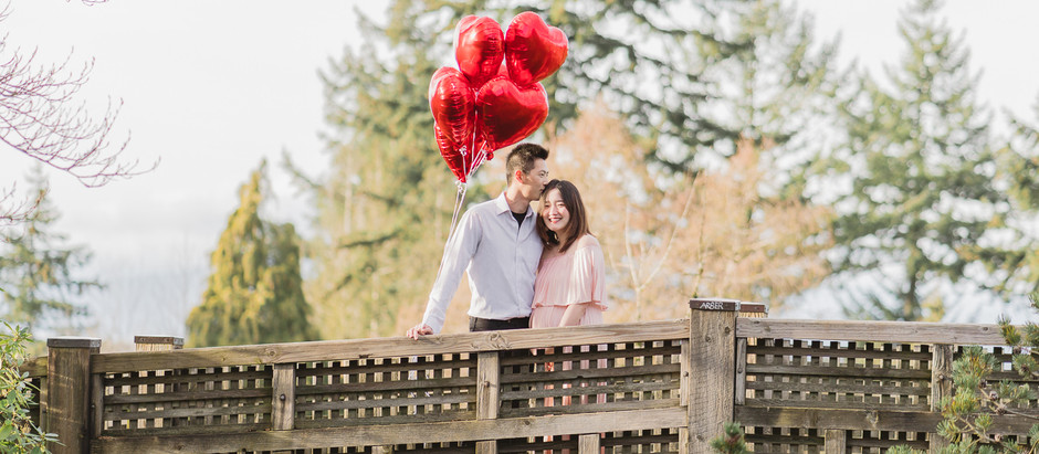 A Valentine's Maternity Session