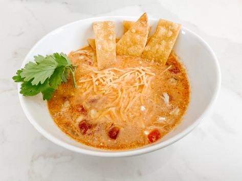 RECIPE    Easy Chicken Tortilla Soup