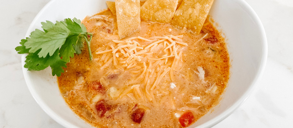 RECIPE || Easy Chicken Tortilla Soup